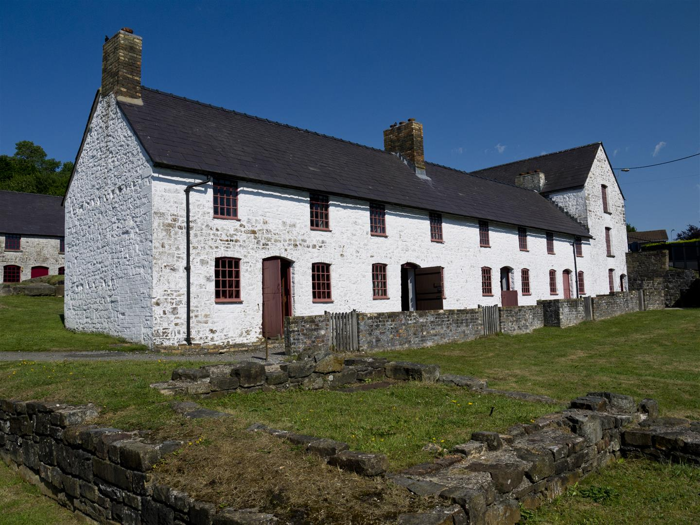 Mining Cottages at Blaenavon Ironworks